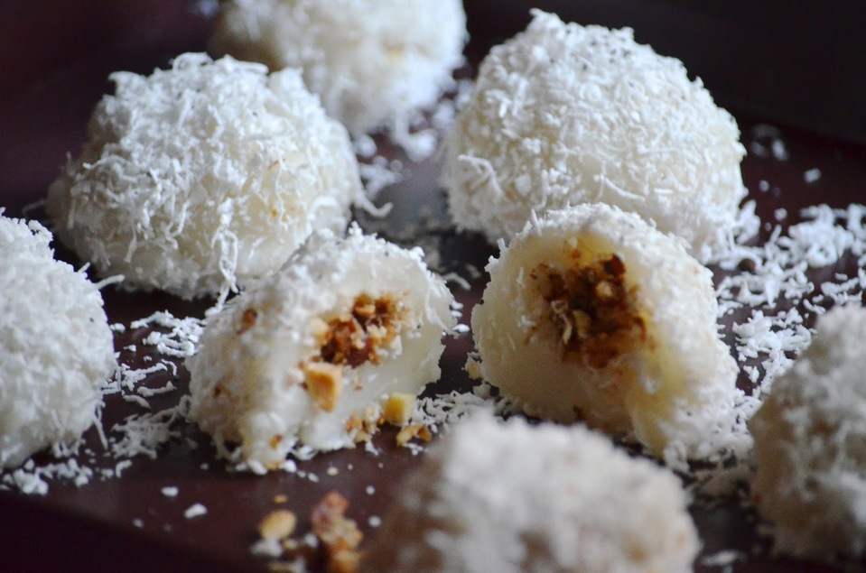 Peanut and Coconut Mochi